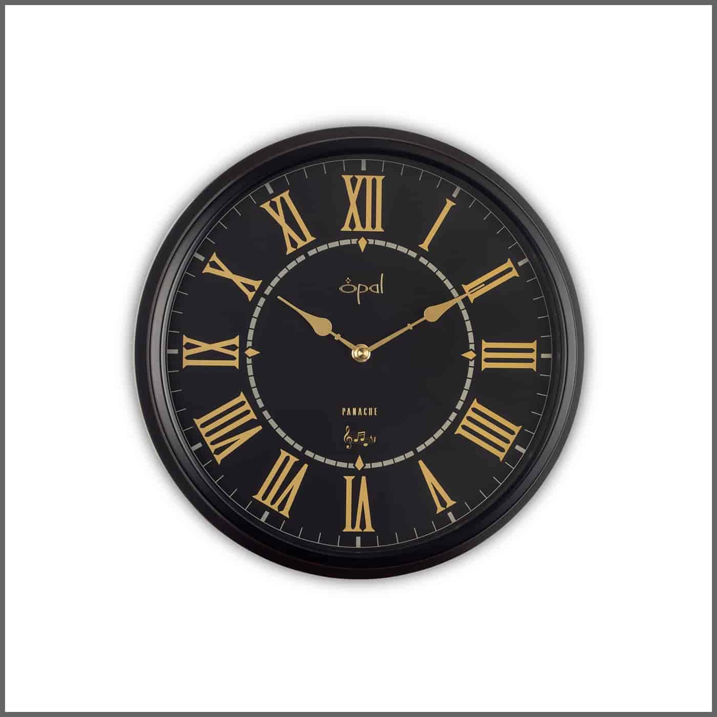 Opal wall clocks review 12000 wall clocks opal panache wall clock 5283bk amipublicfo Choice Image
