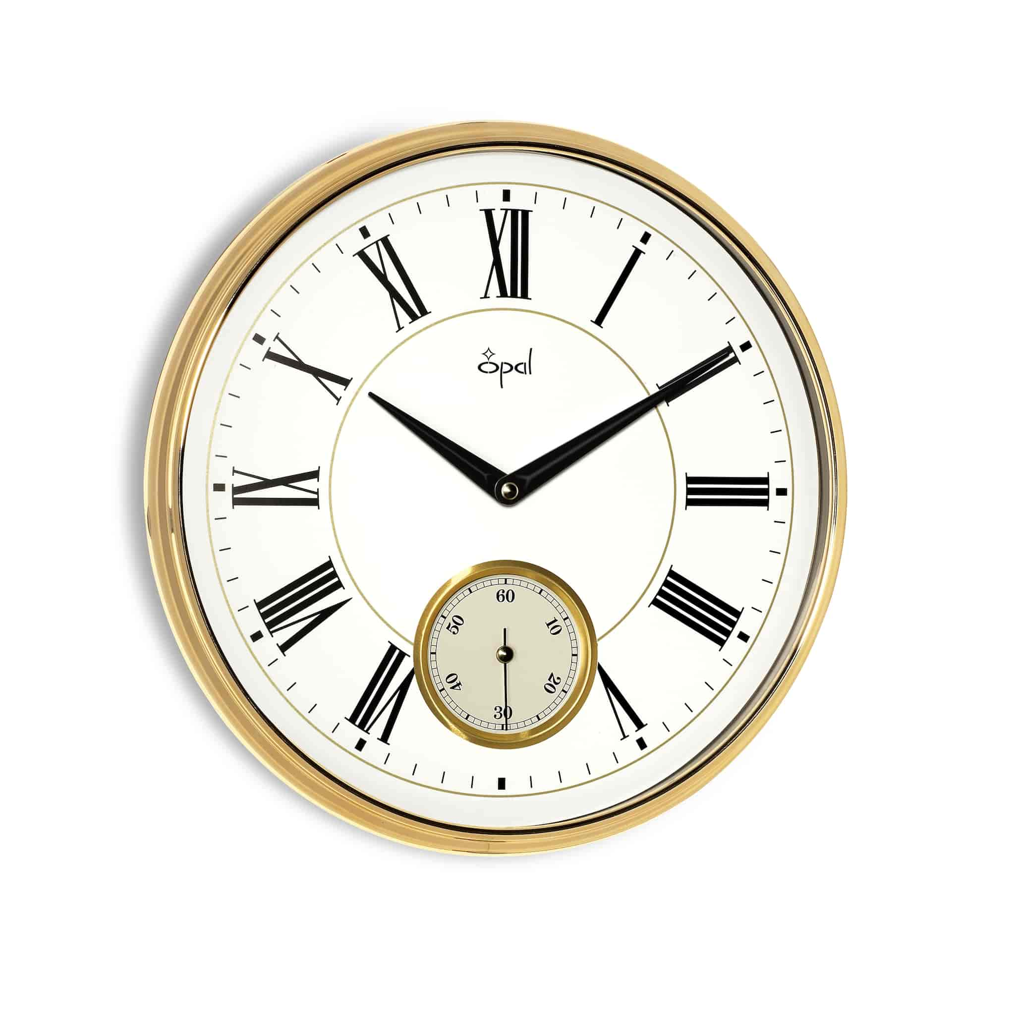 Buy opal panache wall clock 5436r features price reviews opal panache wall clock 5436r amipublicfo Choice Image