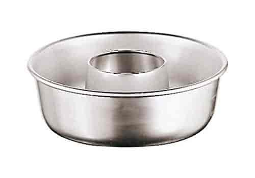 Paderno World Cuisine A4982312 Stainless Steel Yule Log Mold with Removable Sides Gray