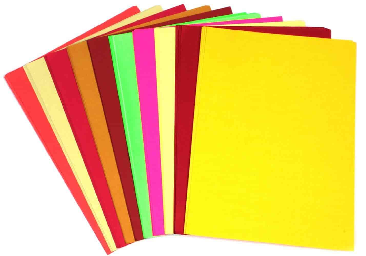 Buy PIGLOO Pack of 90+ A4 Size Multi GSM Color Paper Sheets for Art ...