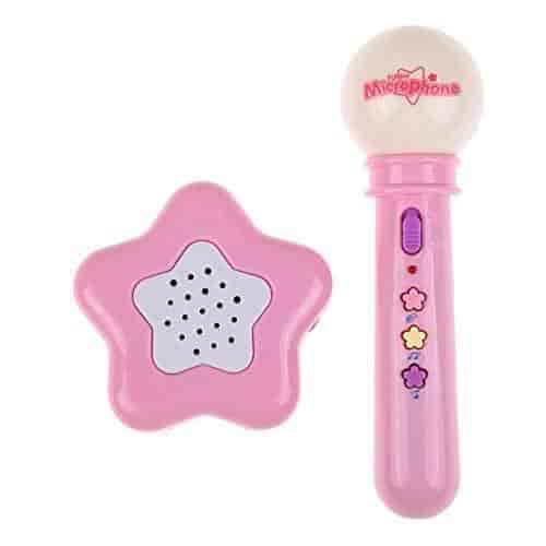 Buy Pink Wireless Microphone Mic Karaoke Singing Baby Kids