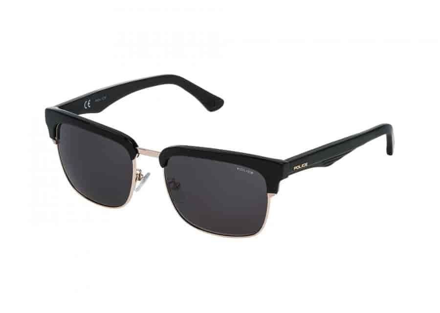 Police Sunglasses Online India  police men sunglasses black spl354v30 features price