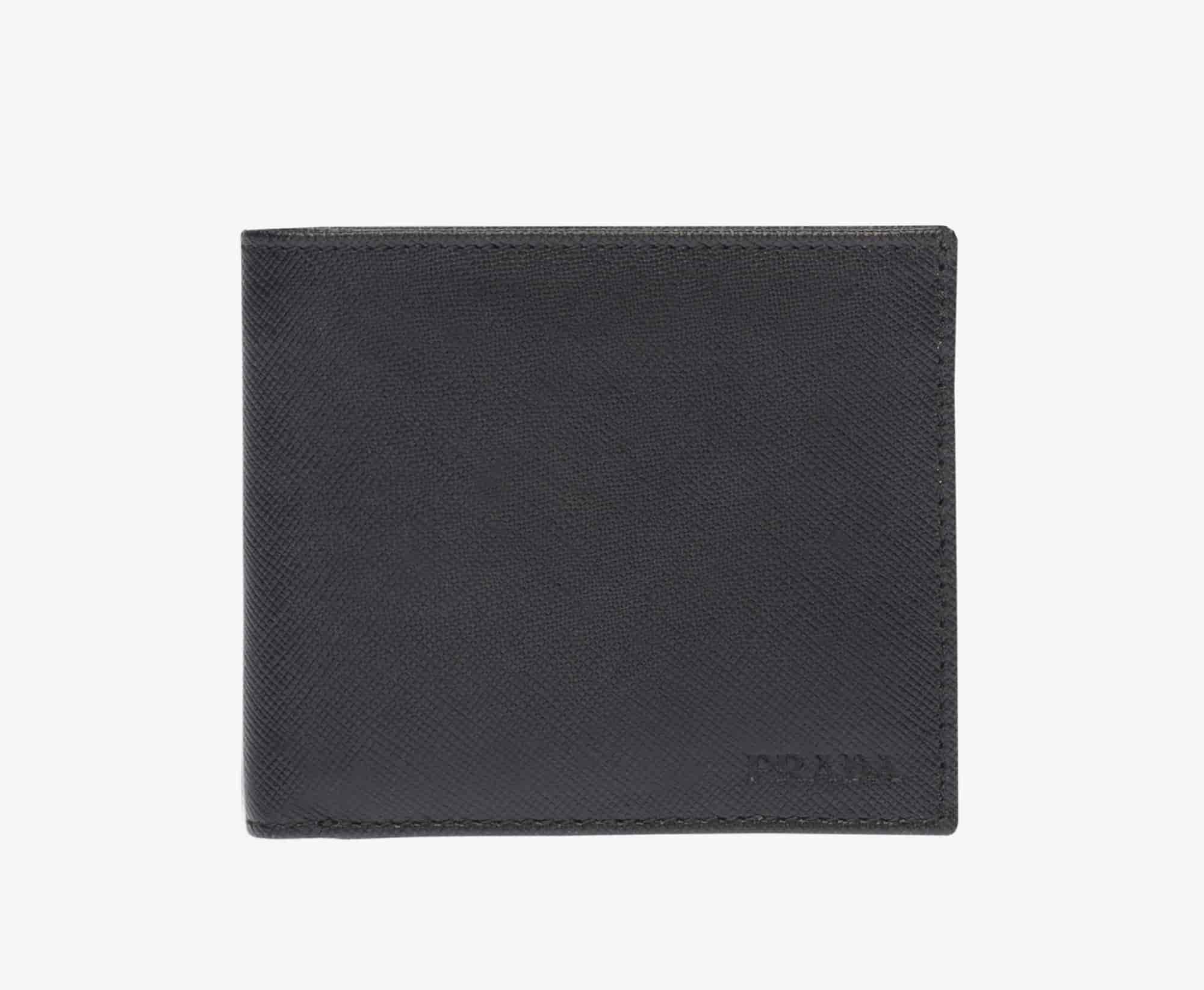 Prada Men Wallet Black [2MO912 053 F0002]