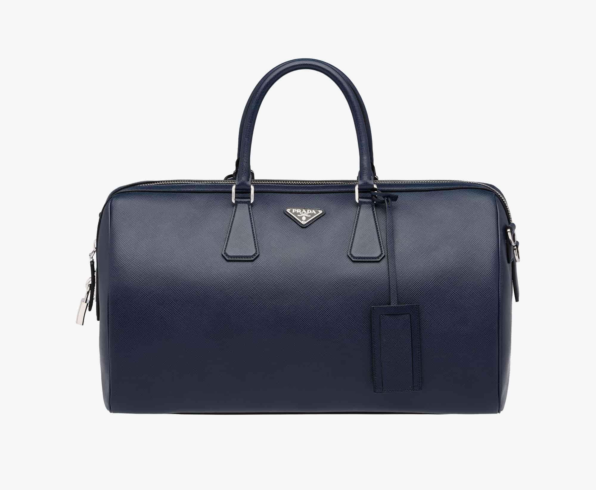 76ac65dc263 Buy Prada Weekender Luggage Bag Baltic Blue  2VC372 2FAD F0216 V OOO ...