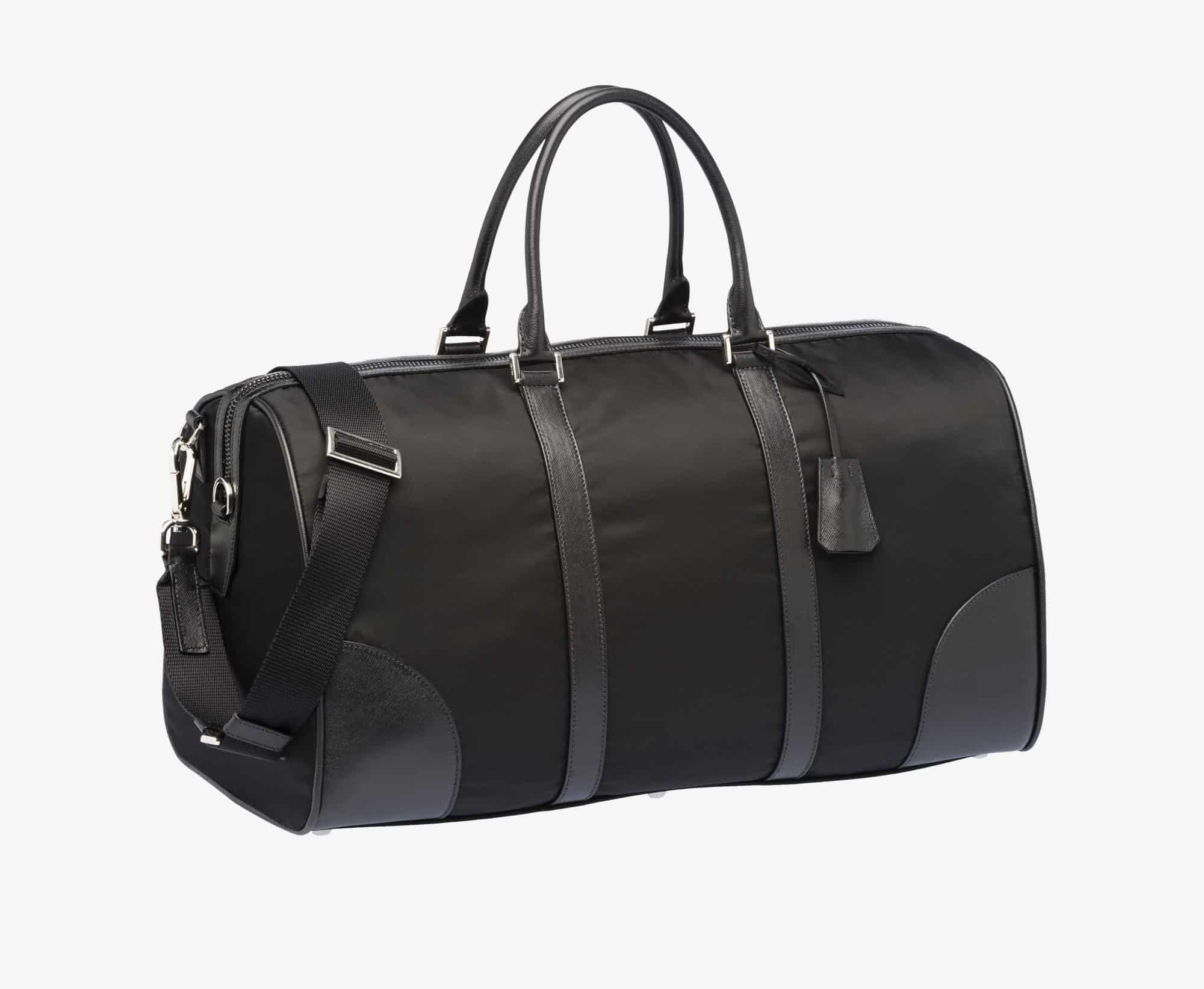 Prada Weekender Luggage Bag Black [2VC350 064 F0002 V OOO]