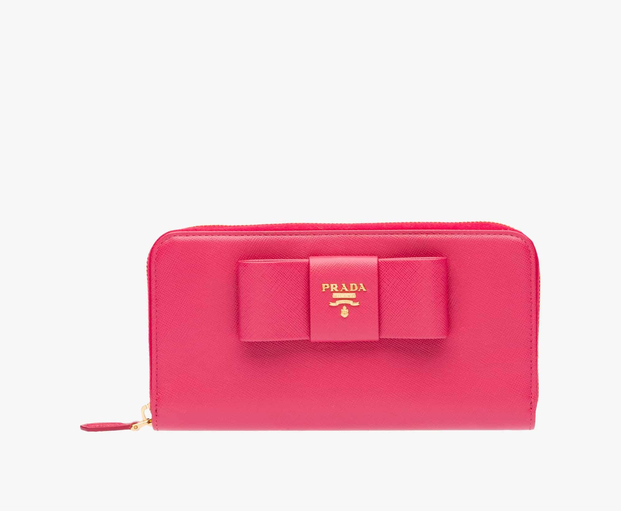 the best attitude 44d7f 2a6ab Prada-Women-Wallet-Peony-Pink-1ML506-ZTM-F0505