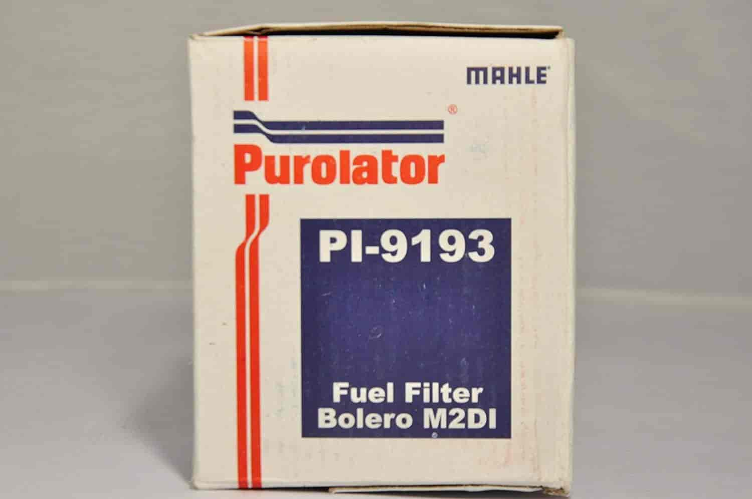 Buy Purolator 79920459 High Performance Replacement Fuel Filter For Vanguard Mahindra Bolero M2di