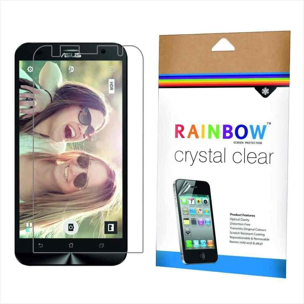 Buy Rainbow Crystal Clear Protector Screen Guard For Asus Zenfone 2 Ze 550kl Laser Ze550kl