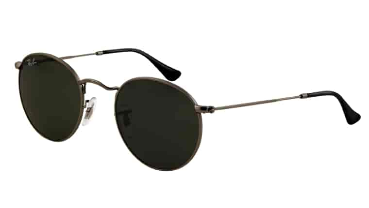 Price Of Ray Ban Sunglass  ray ban round metal rb3447 sunglass matte gunmetal 029