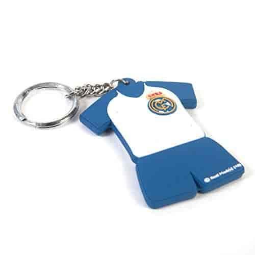 sale retailer ca6f8 86408 Real-Madrid-C-F-Jersey-Blue-White-Keychain