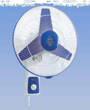 Remi Solar And Battery Operated 410 Mm Wall Mount Fan
