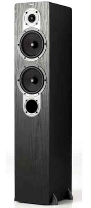 Jamo Floor Standing Speaker Black Ash S 426