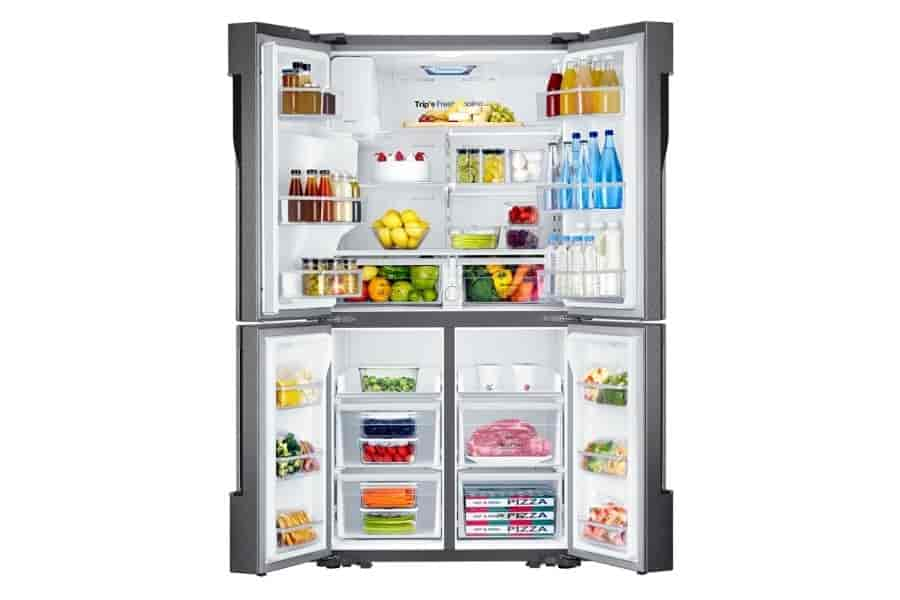 Buy Samsung Rf858qalax3 Frost Free French Door Refrigerator 893