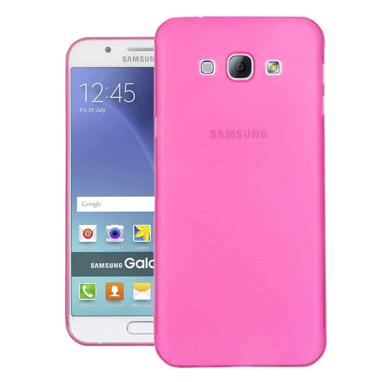 Buy Samsung Galaxy A8 Case Cover : Cubix Translucent Series