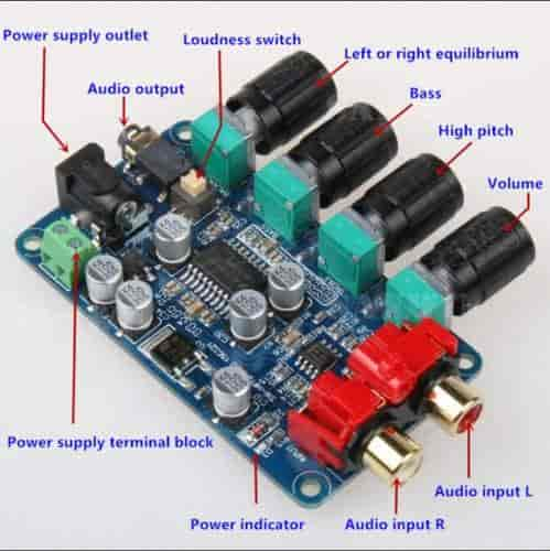 Buy Sellify DIY LM1036 + NE5532 Stereo Preamp Preamplifier