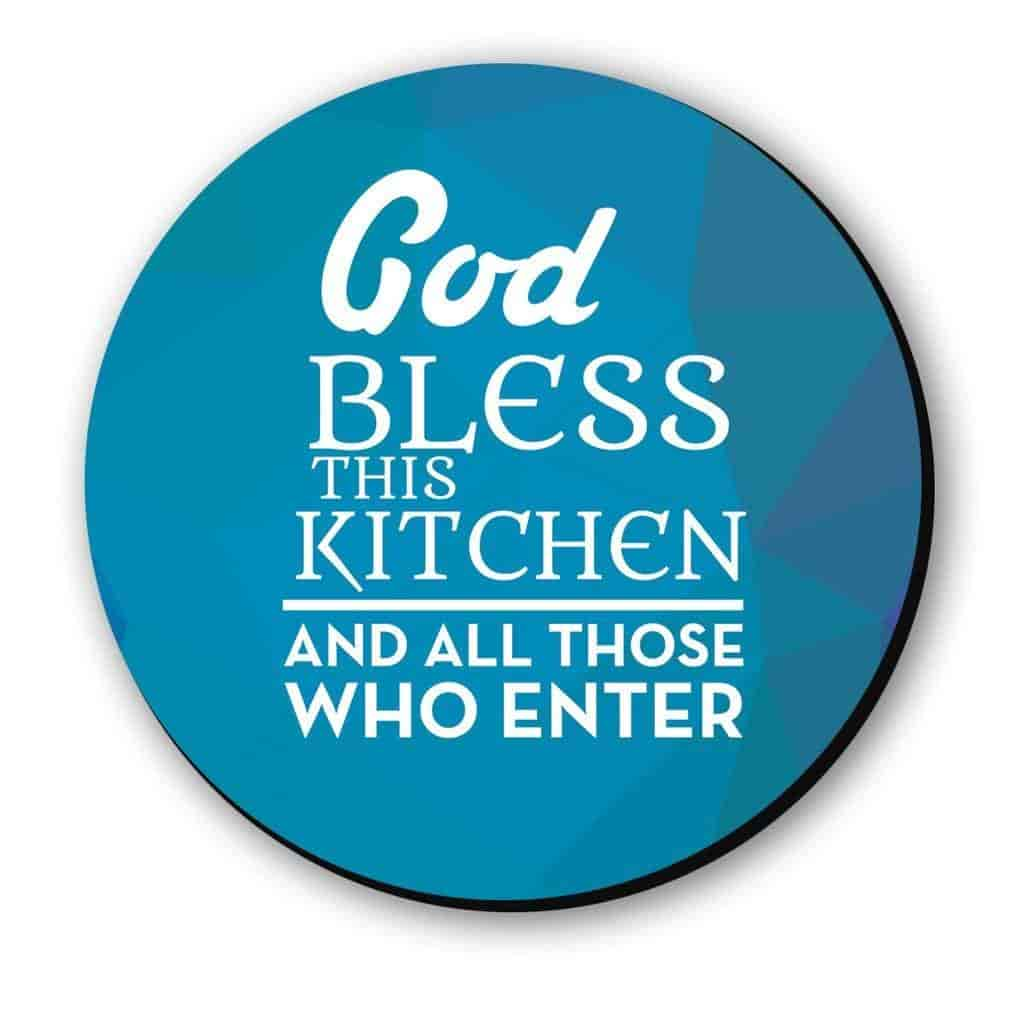 Buy Seven Rays God bless the kitchen Fridge Magnet, Features, Price ...