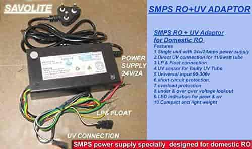 Buy SMPS RO + UV Power supply, Features, Price, Reviews Online in ...
