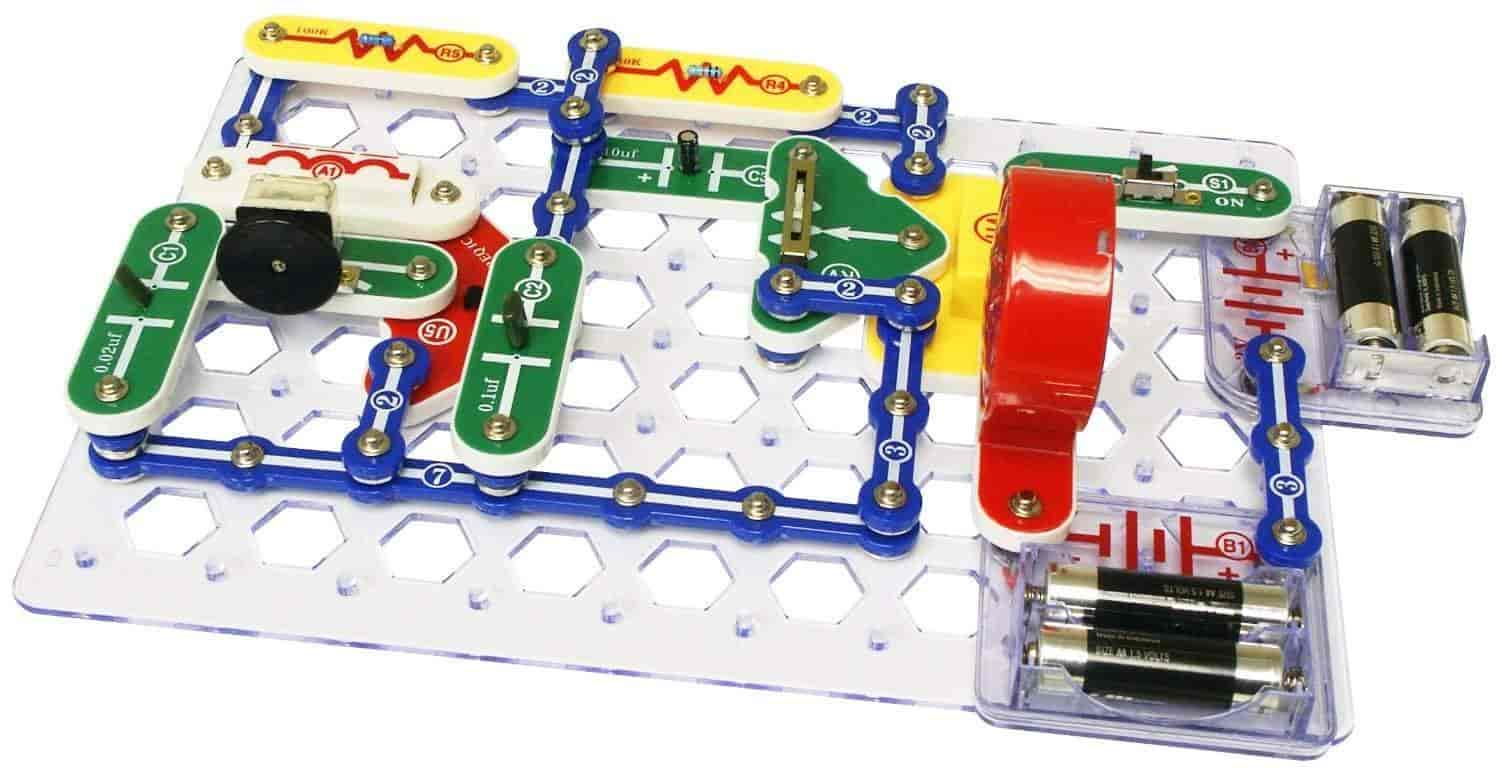 Buy Snap Circuits Sc 300 Electronics Discovery Kit Features Price Electronic