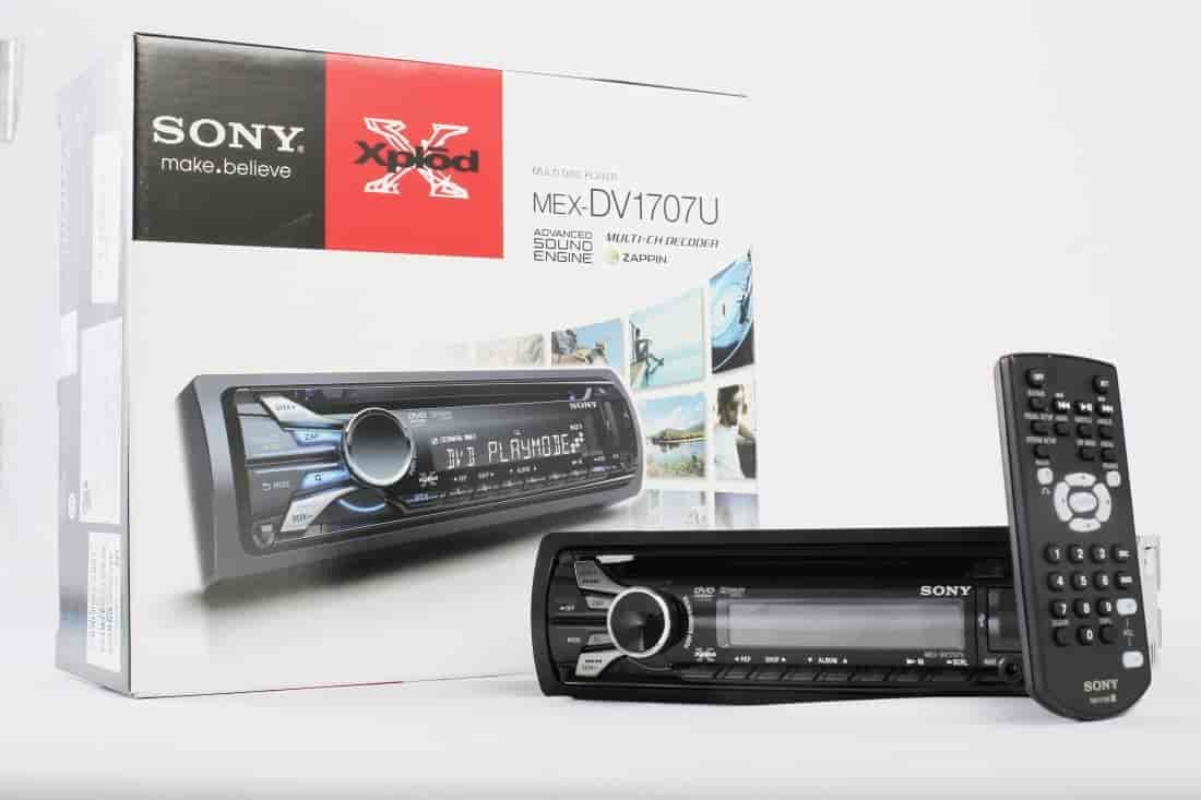 Buy Sony Car Dvd Player Mex Dv1707u Features Price Reviews Stereo Models