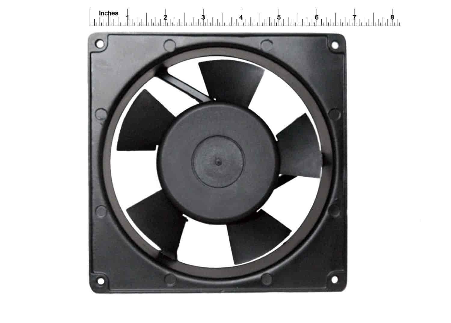 SONYA-SON0009-Axial-Cooling-Blower-Rotary-Exhaust-Fan-Black