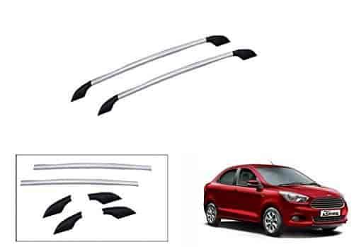 Buy Speedwav Car Drill Free Roof Rails Silver Ford Figo Aspire