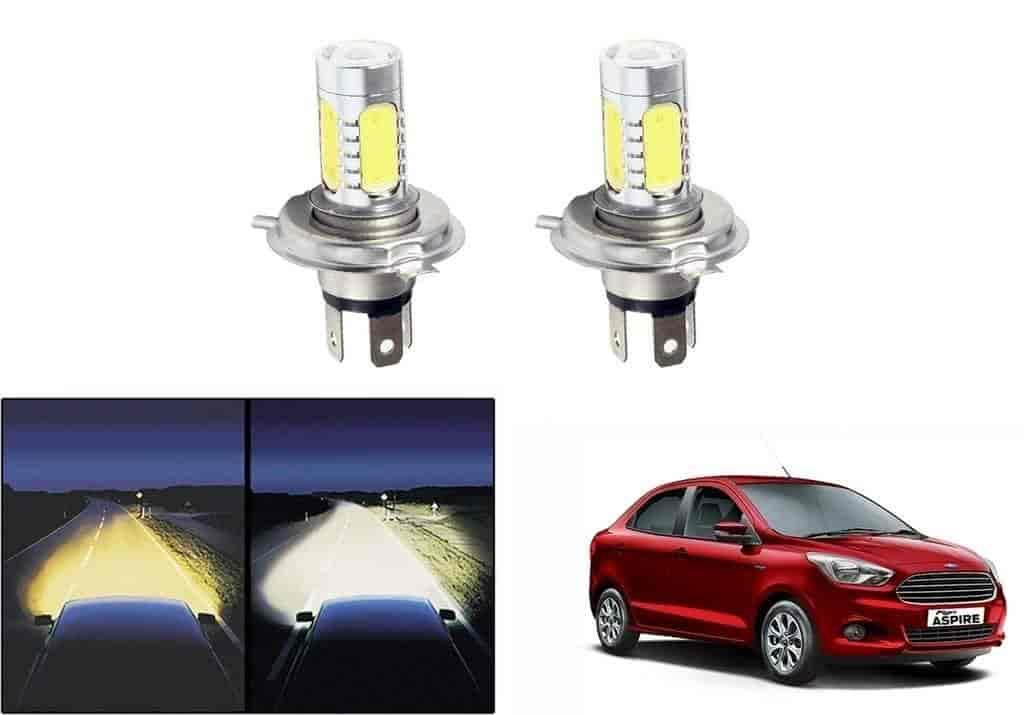 Buy Speedwav Car H4 Headlight Led Bulbs Set Of 2 Ford Figo Aspire