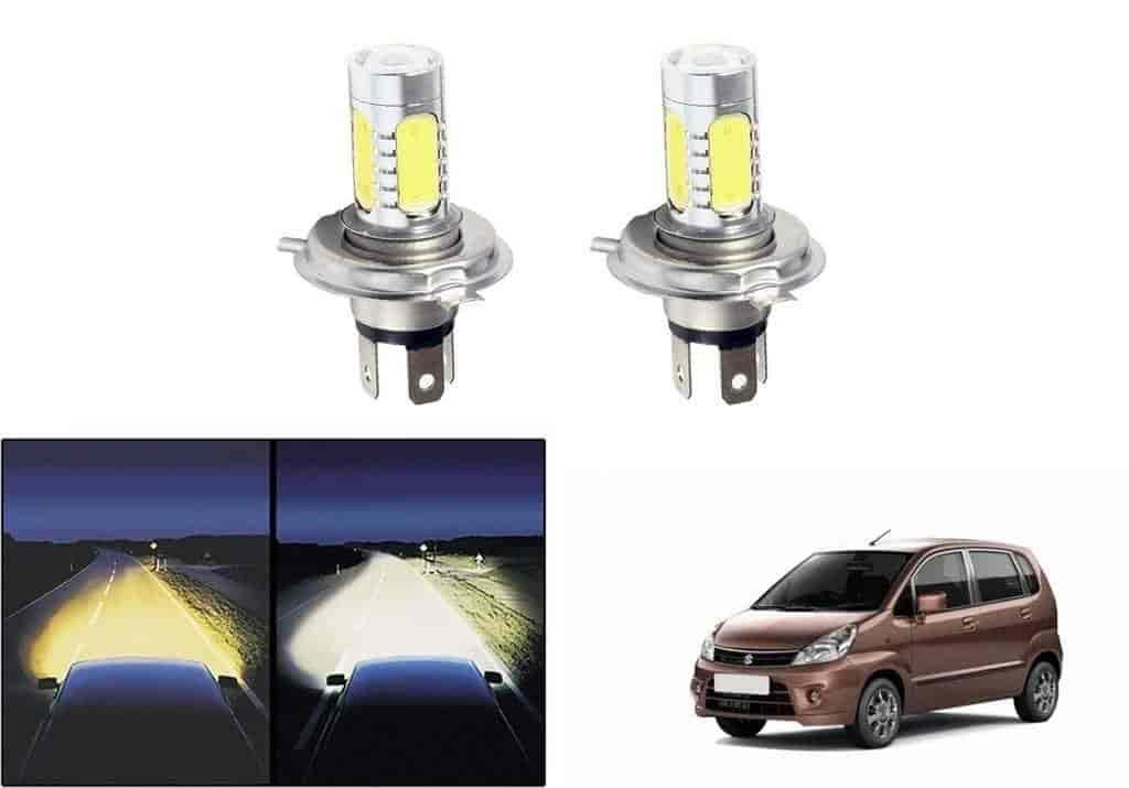 Buy Speedwav Car H4 Headlight Led Bulbs Set Of 2 Maruti Zen Estilo