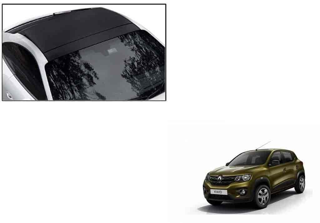 Buy Speedwav Car Roof Wrap Sheet Matt Black Renault Kwid Features Price Reviews Online In India Justdial