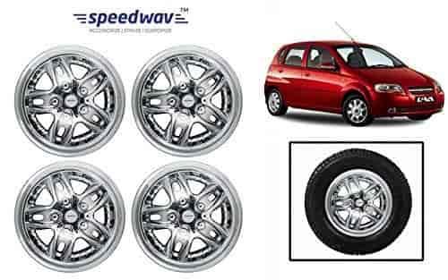 Buy Speedwav Sbolt Full Chrome 14 Wheel Covers Set Of 4 Chevrolet