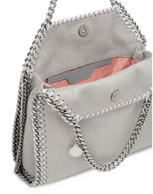 b046f007d69 Buy Stella McCartney Falabella Shaggy Deer Mini Tote Bag Light Grey   371223W91321220 , Features, Price, Reviews Online in India - Justdial