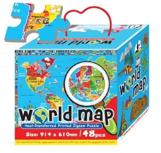 Buy sun ta 48pcs heat transferred printed jigsaw puzzle world map sun ta 48pcs heat transferred printed jigsaw puzzle world map st 3287 gumiabroncs Image collections