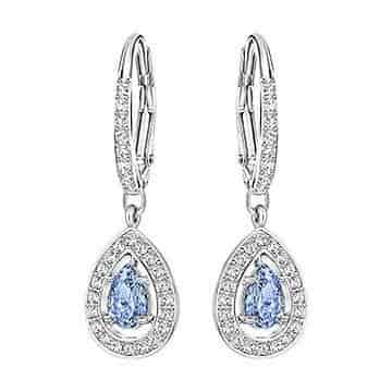 29e2be82408fe Buy Swarovski 5197459 Attract Light Pear Pierced Earrings, Features, Price,  Reviews Online in India - Justdial