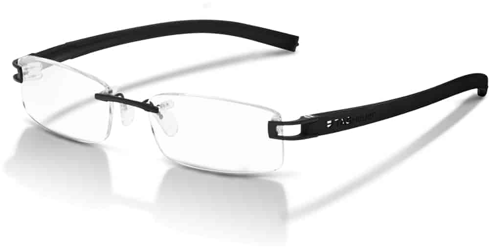 Buy Tag Heuer Reflex Fold Rimless Spectacle Frame Black [7642-001 ...