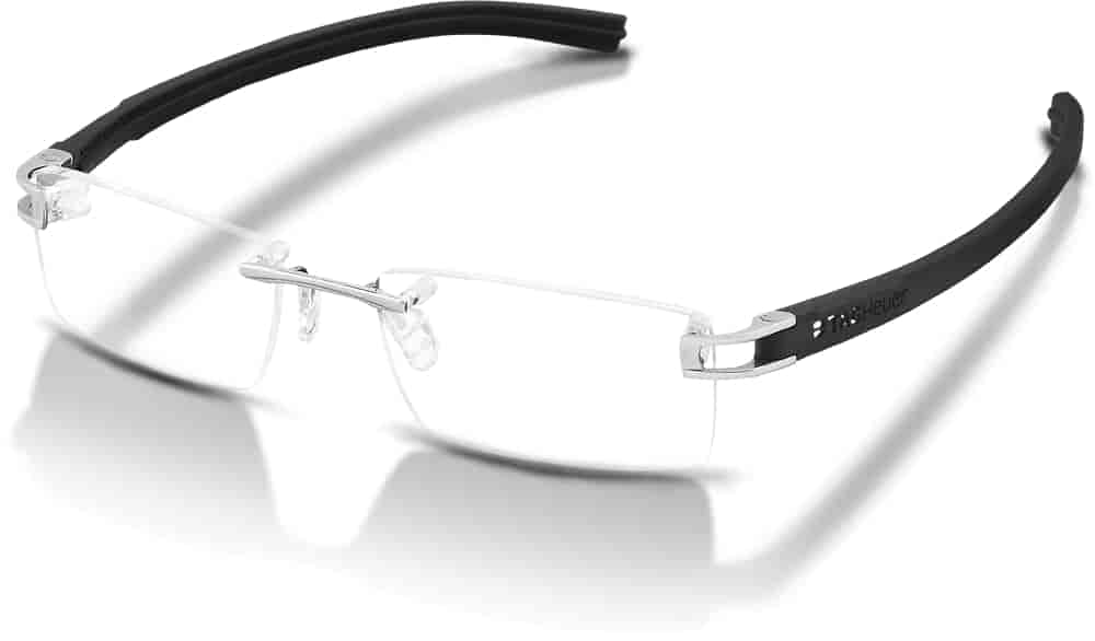 Buy Tag Heuer Reflex Fold Rimless Spectacle Frame Pure [7641-011 ...