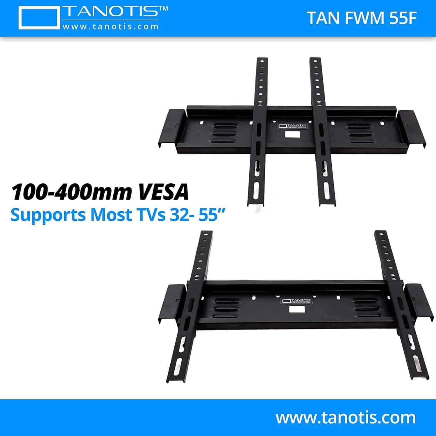 Buy Tanotis Elite F400 Fixed Tv Wall Mount With Wire Manager For Lcd Wiring Led Supports 32