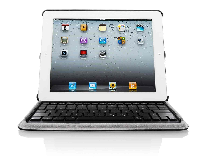 Targus-Versavu-Keyboard-Case-for-iPad-3-and-iPad-4th-Generation-Wi-Fi-4G-Model-16GB-32GB-64GB-THZ17101US-(Black)