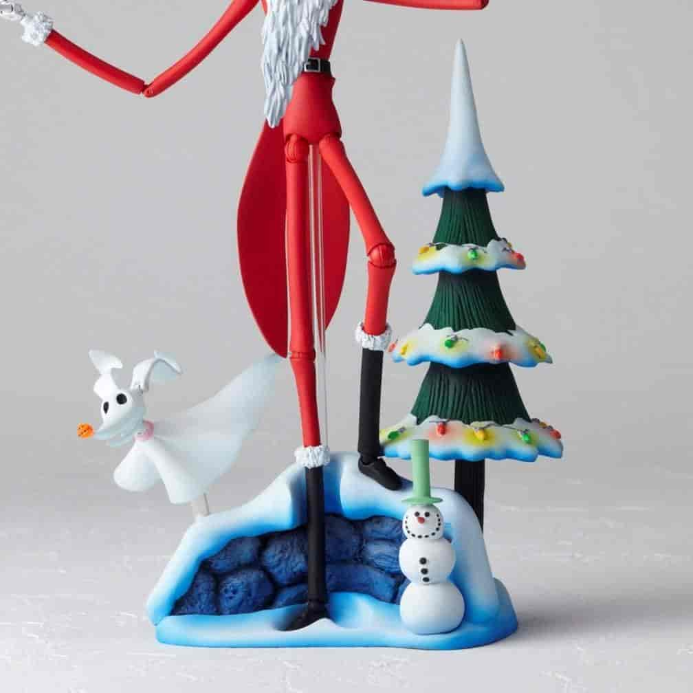 Buy The Nightmare Before Christmas Santa Jack Skellington Revoltech ...