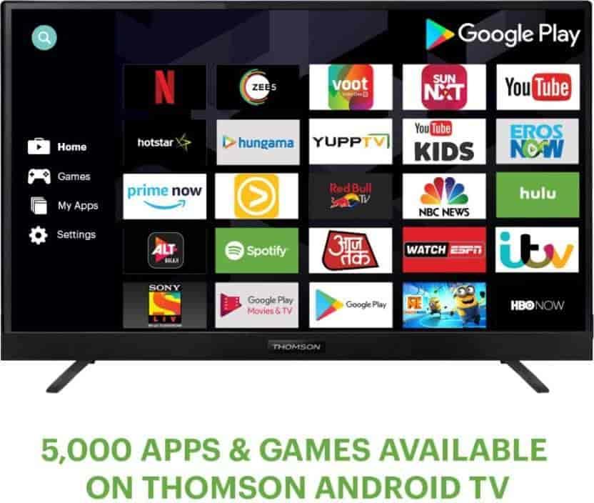 Thomson-108-cm-(43-)-Ultra-HD-(4K)-LED-Smart-Android-TV-(43-OATH-1000)-(Black)