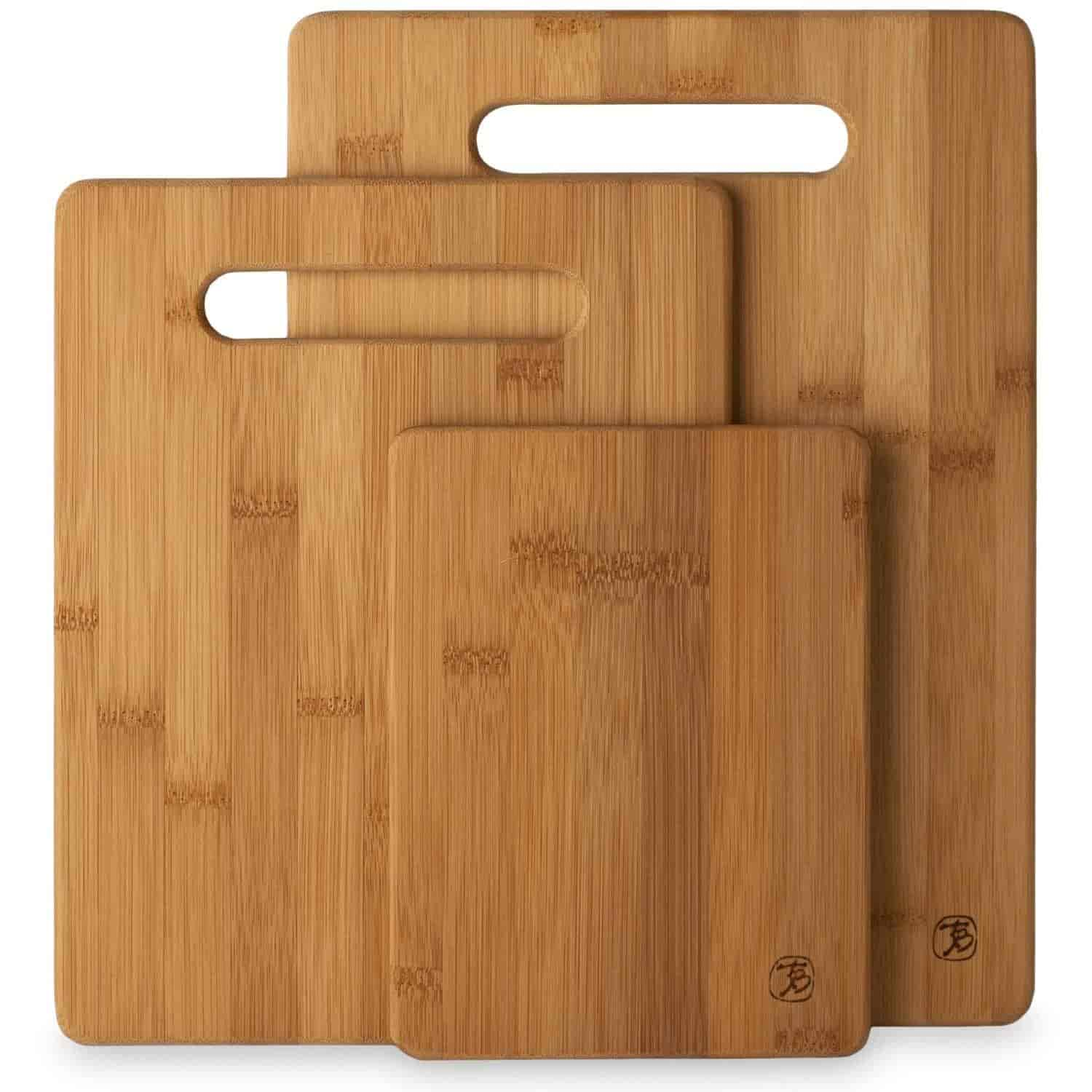 Buy Totally Bamboo 20 7930 3 Piece Cutting Board Set Features