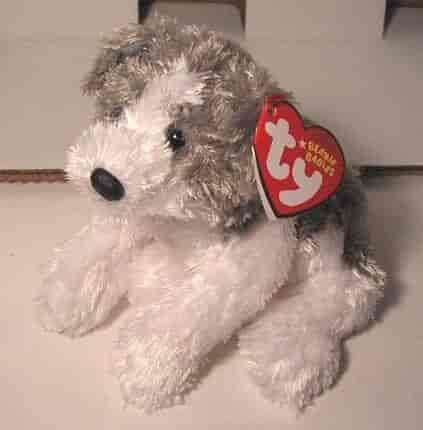 Ty-Beanie-Baby-Fetch-The-Dog-(Grey-amp-White-Version)