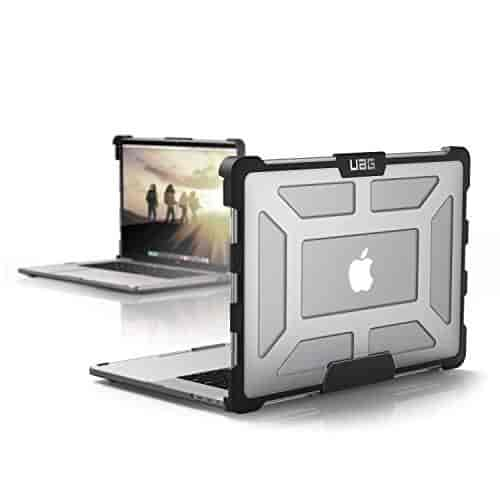 Urban-Armor-Gear-UAG-Plasma-Rugged-Protection-Case-Cover-Designed-for-MacBook-Pro-15-inch-(4th-Gen-with-TouchBar)-(Military-Drop-Tested)-Ice