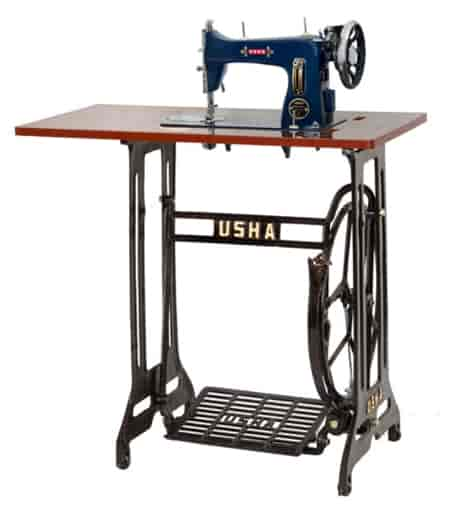 Buy Usha Anand Deluxe With Stand And Table Sewing Machine Dark Blue Amazing Usha Janome Sewing Machine Price List