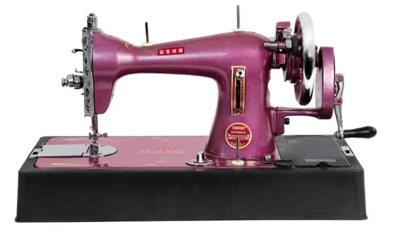 Buy Usha Butterfly Sewing Machine Metallic Purple Features Price Extraordinary Butterfly Sewing Machine
