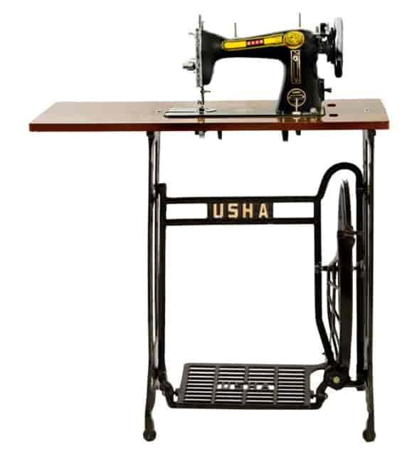 Usha Tailor Supreme With Stand And Table Sewing Machine Black
