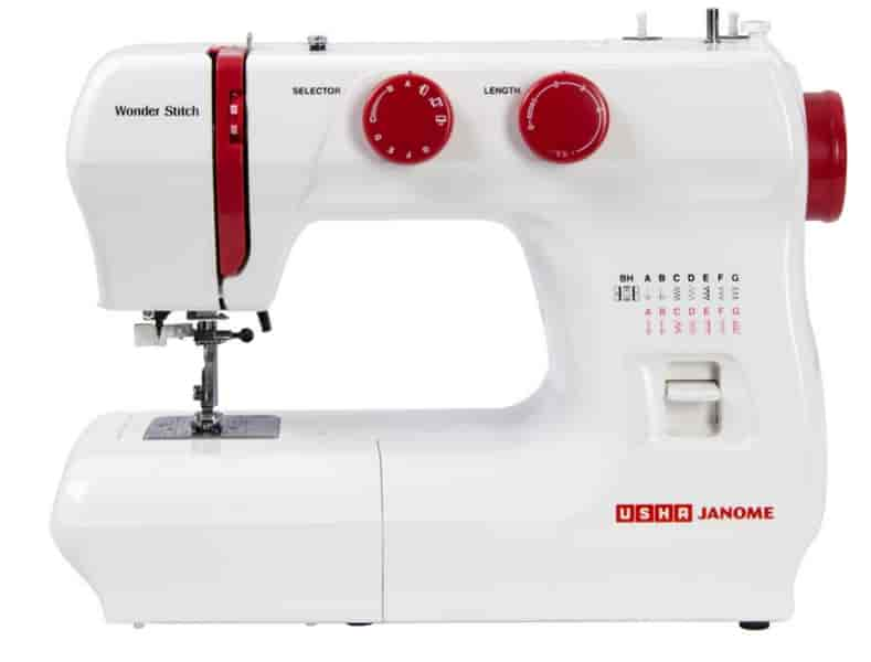 Buy Usha Janome Wonder Stitch Sewing Machine Features Price Inspiration Janome Sewing Machine Online