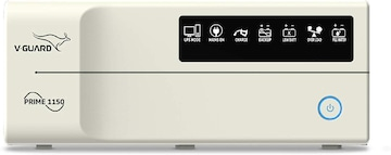 V-Guard Prime 1150 Digital Inverter UPS,white