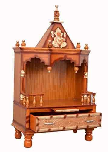 vishwakarma furniture wooden home temple/puja mandir/wooden temple/temple for home/puja ghar/temple