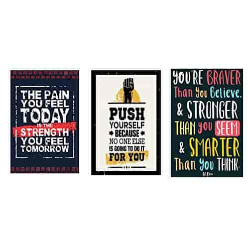 Buy Vprint Combo Pack Of 60 Motivational Quote Wall Poster Quotes New Exide Motivational Quotes