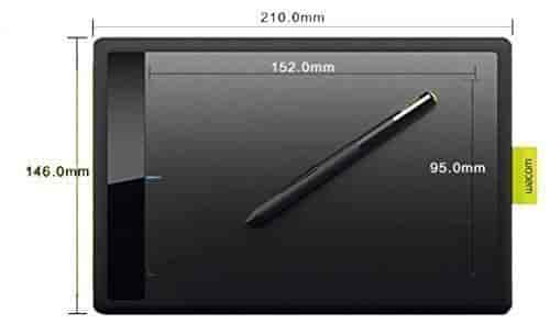 Buy Wacom Bamboo One Drawing Pen Small Tablet CTL471 for Windows Mac ...