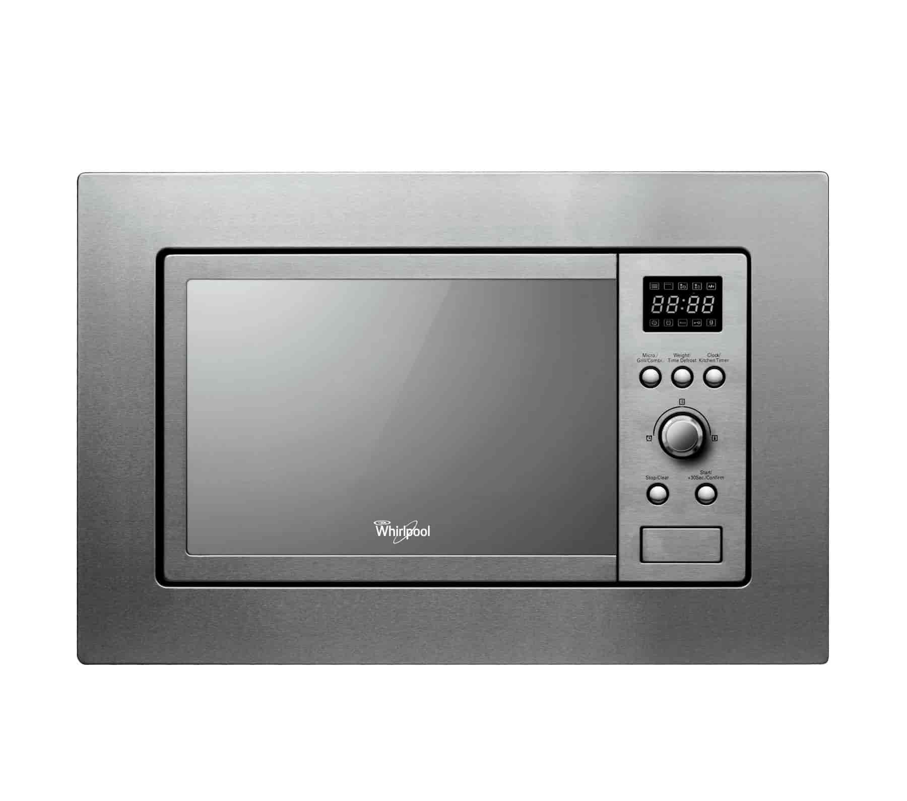 Whirlpool 20 Litres Built In Microwave Oven Inox Amw 1401 Ix